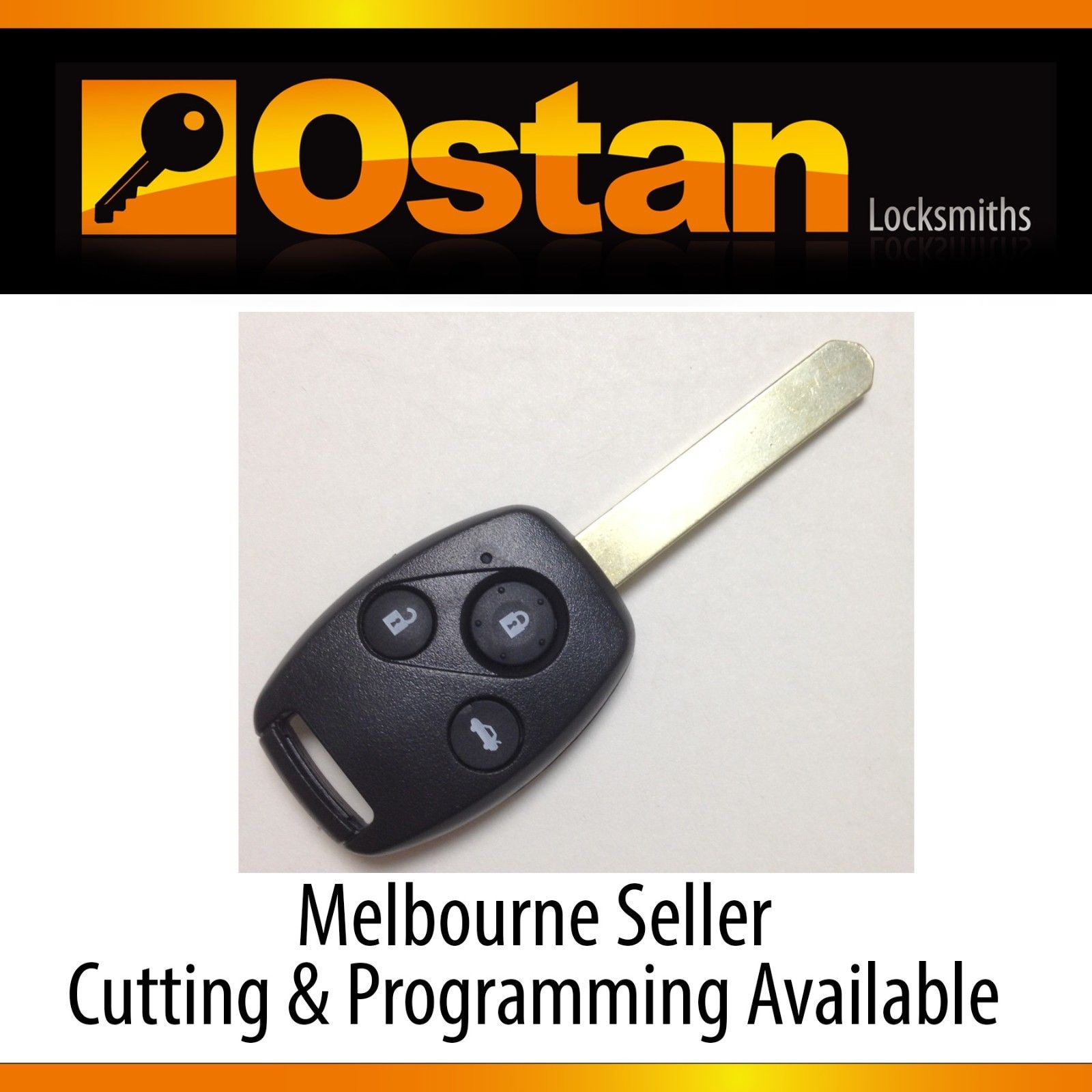 Complete Key & Remote to suit Honda Accord Euro, 2003-2007 (Aftermarket)